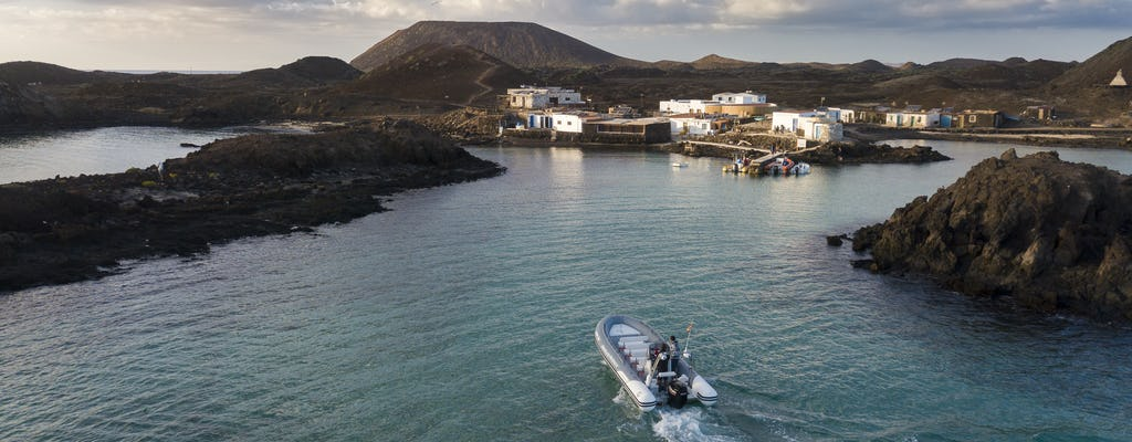 Taxi acqueo per l'isola di Lobos da Corralejo