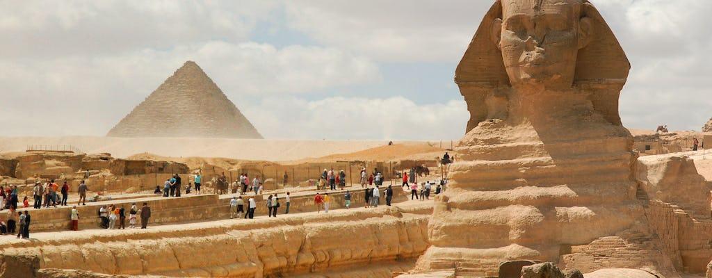 Dia inteiro nas Pirâmides, Esfinge, Memphis, Saqara e Dahshour