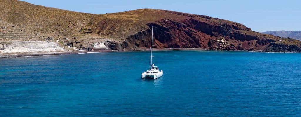 Crociera privata di lusso di un giorno a Santorini