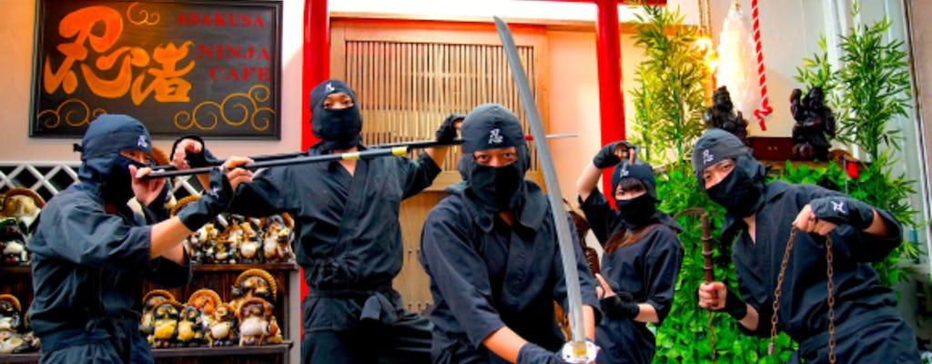 Entraînement des ninjas et visite des ninjas d'Asakusa