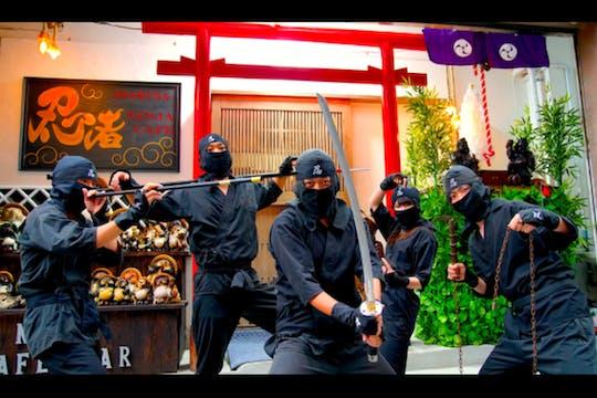 Trening ninja i wycieczka ninja Asakusa