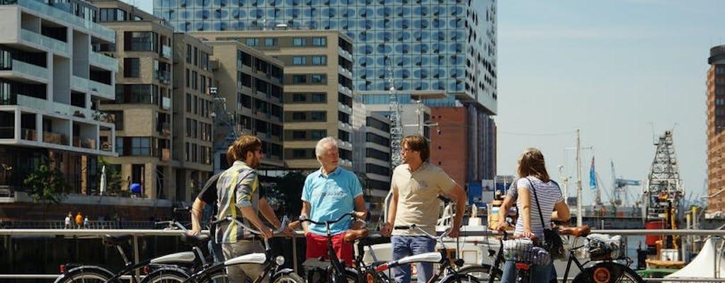 Passeio turístico de bicicleta por Hamburgo