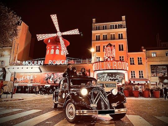 Ночной Париж экскурсия в Ситроен трэкшн
