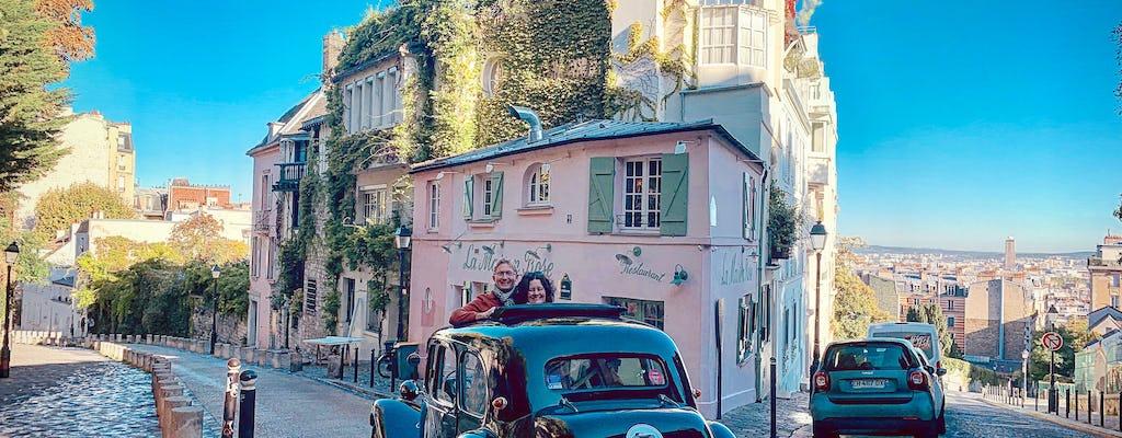 Rondleiding van 3 uur door Parijs in een Franse oldtimer