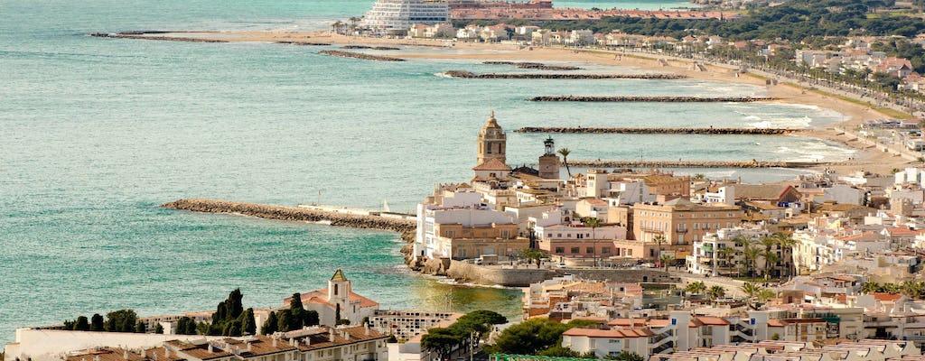 Visite privée de Tarragone et Sitges au départ de Barcelone