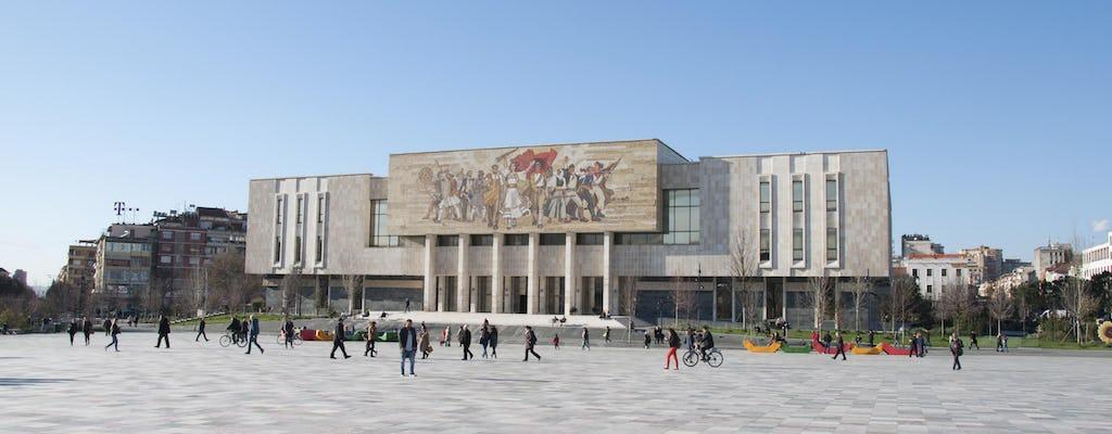 Highlights of Tirana walking tour