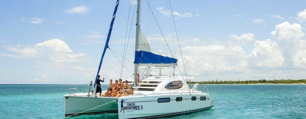 Entspannende Katamarantour für Erwachsene - Riviera Maya