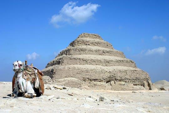 Descubra os tesouros de Saqqara durante todo o dia