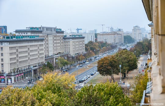 Architecture guided tour Berlin: The former Stalinallee