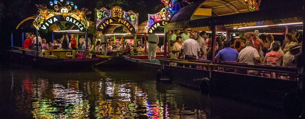 Xoximilco Cruise with Dinner Ticket