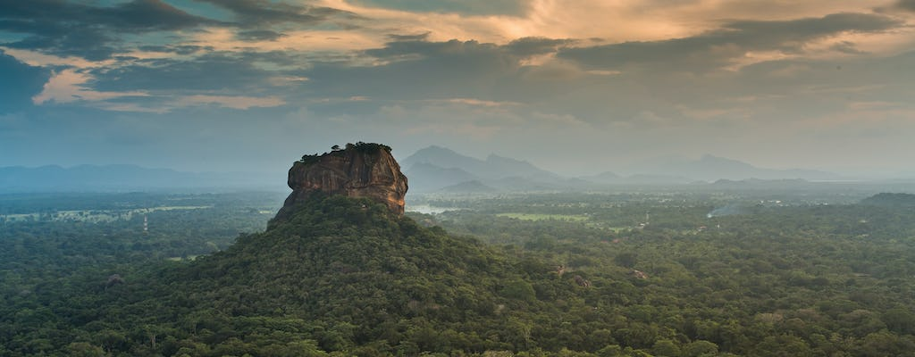 Sigiriya Rock and Dambulla Cave Temple tour from Kandy
