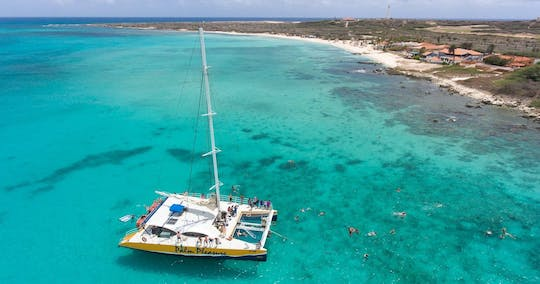 Palm Pleasure catamaran snorkel adventure