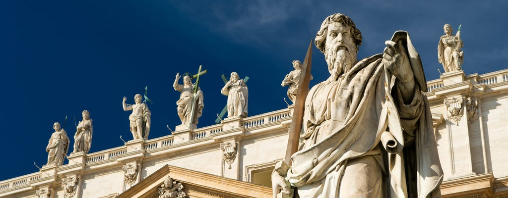 Папскую аудиенцию с папой римским Франциском с Короткая экскурсия по городу