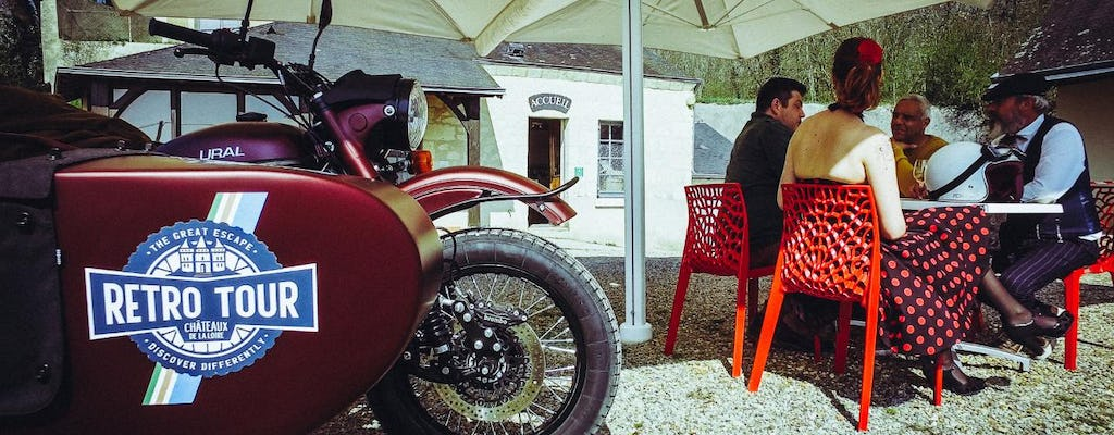 Half-day sidecar tour of the Loire Valley from Tours