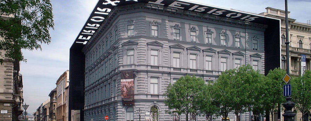 Guided tour of the House of Terror in Budapest