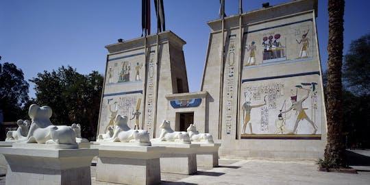 Boleto de entrada al pueblo faraónico