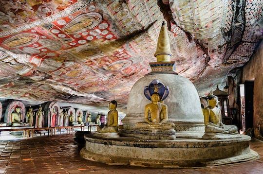 Führung durch den Sigiriya-Felsen und den Dambulla-Höhlentempel