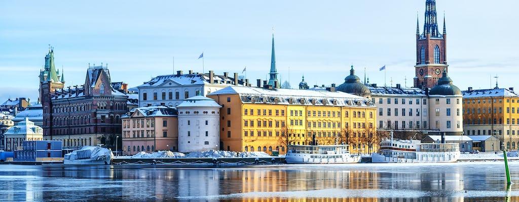 Tour en kayak por la ciudad de invierno de Estocolmo