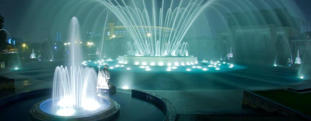 Entradas al circuito mágico del agua y visita guiada.