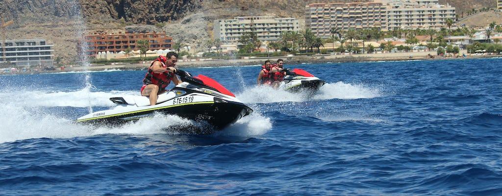 Tour en moto de agua en el sur de Tenerife