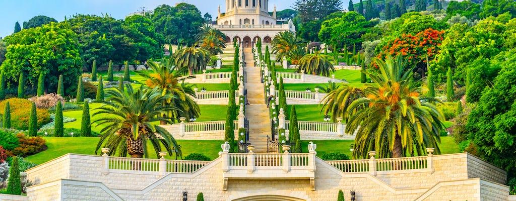 Excursão de dia inteiro em Cesaréia, Haifa e Acre saindo de Jerusalém