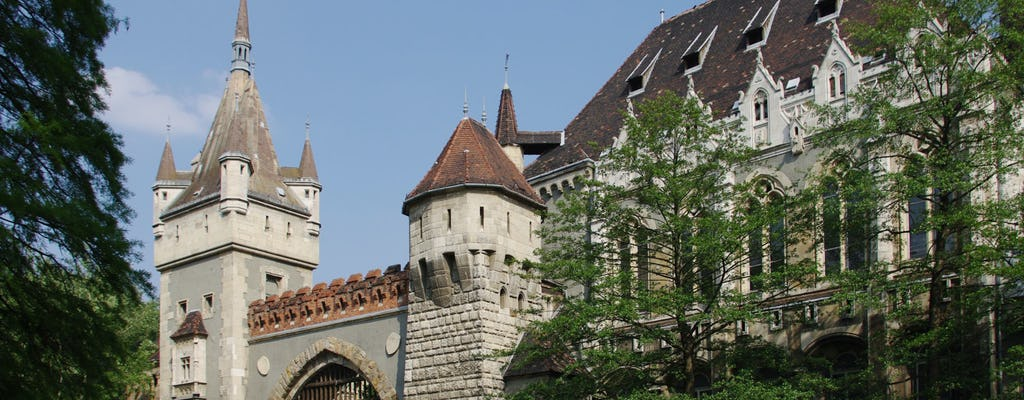 Kings and Dracula tour of Budapest, including Vajdahunyad Castle