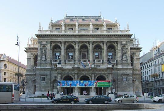 Tour a piedi di Budapest con visita all'Opera e concerto