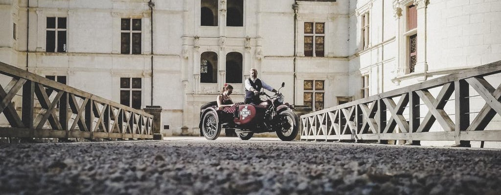 Great Escape sidecar tour from Amboise