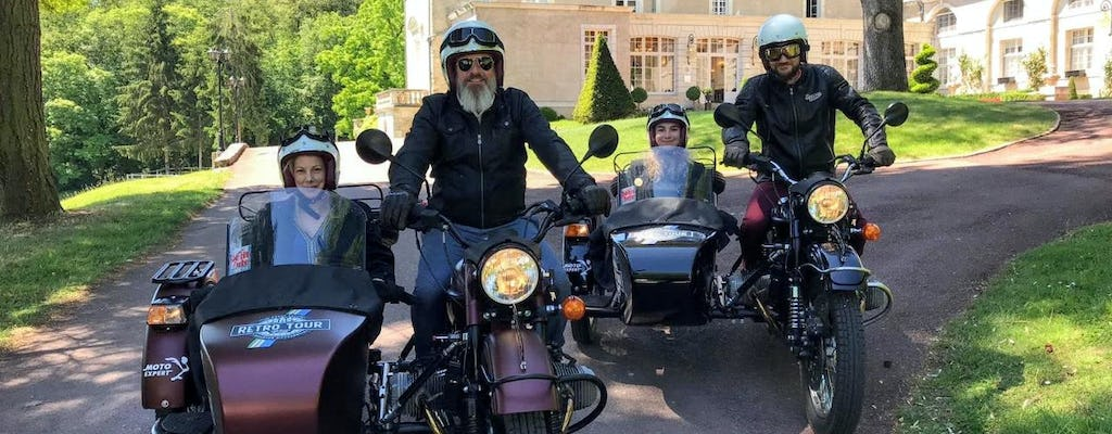 Retro Classic sidecar tour from Tours