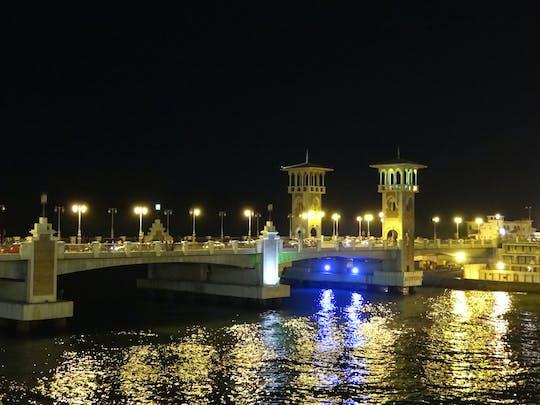 Visite nocturne - Visite de la ville d'Alexandrie