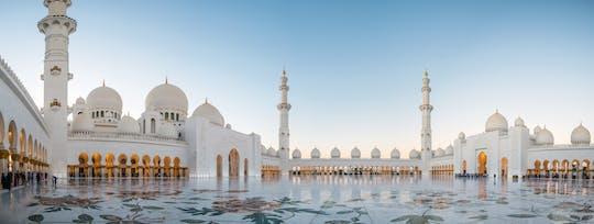 Tour della Moschea dello Sceicco Zayed e del Palazzo Qasr Al Watn con tè pomeridiano all'Emirates Palace