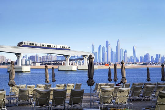 Moderne Dubai-tour met monorailrit naar Palm Jumeirah