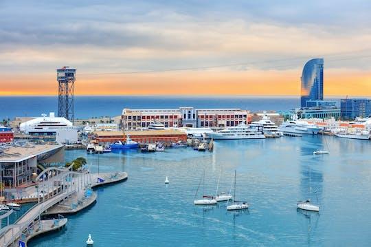 Частная роскошные моторная яхта в Барселоне