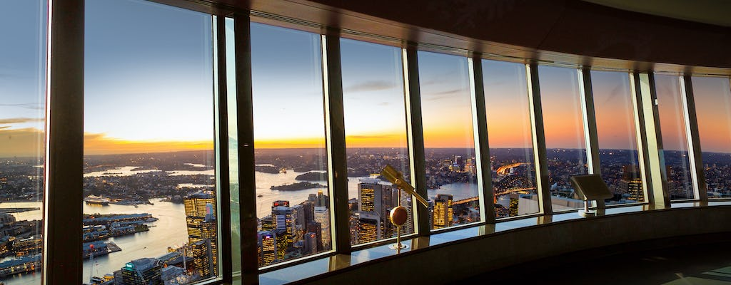 Sydney Tower Eye and Skywalk tickets