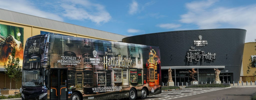 Warner Bros. Studio Tour Londres saindo de York com London Transportation