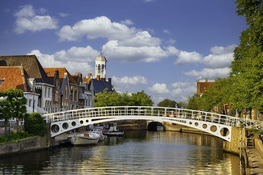 Walking tour in Dokkum with a self-guided city trail