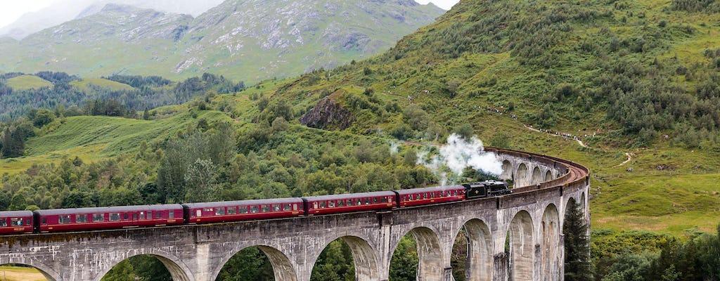 Trem de Harry Potter e passeio panorâmico pelas Highlands