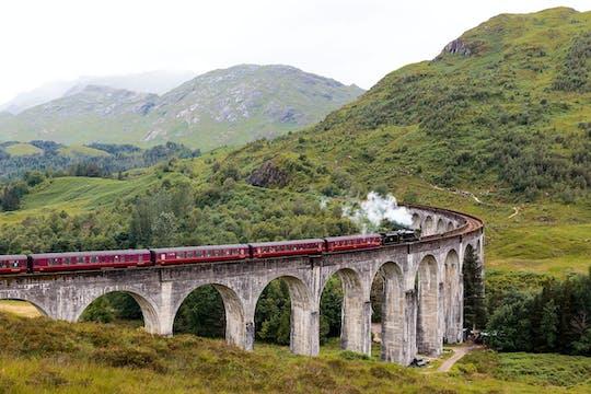Treno di Harry Potter e gita di un giorno panoramico nelle Highlands