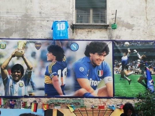 Maradona's Naples small-group walking tour