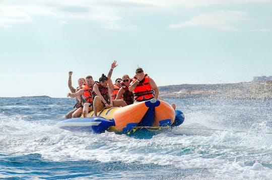 Wassersportaktivitäten am Playa Fanabe auf Teneriffa