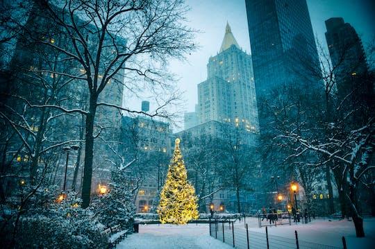 New York Christmas holiday tour