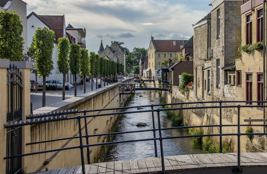 Walking tour in Valkenburg with a self-guided city trail