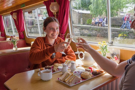Skipton Canal afternoon tea cruise