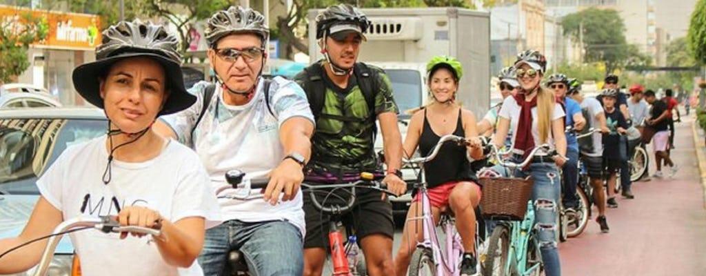 Велосипедный тур Лима районов Мирафлорес и Сан-Исидро