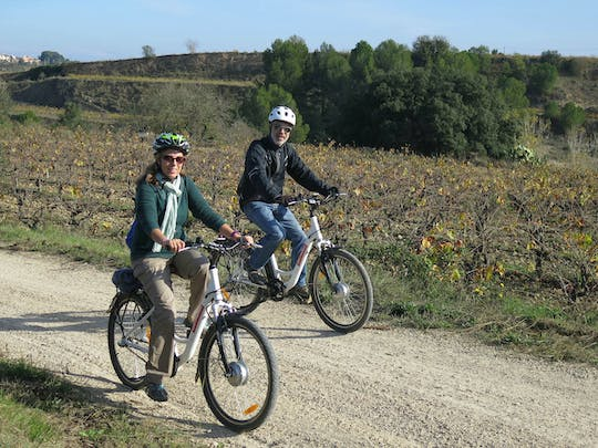 Electric bike ride and wine tasting in the Penedes region