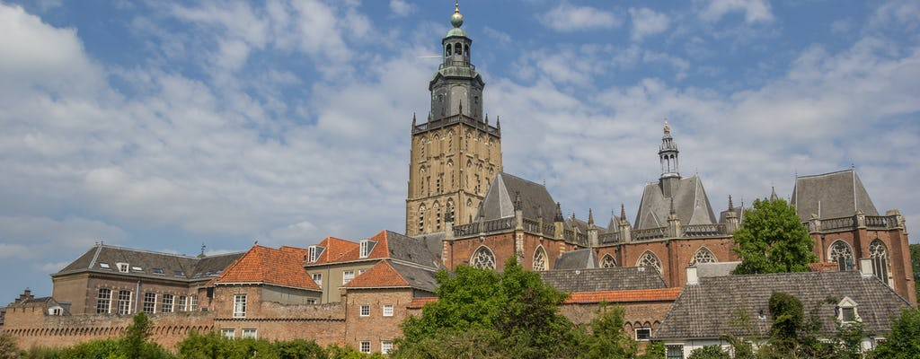 Walking tour in Zutphen with a self-guided city trail