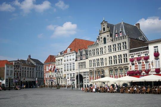 Recorrido a pie en Bergen op Zoom con un recorrido autoguiado por la ciudad