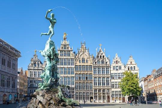 Fietstocht met gids langs de highlights van Antwerpen