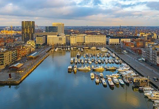 Частная велосипедный тур в порту Антверпена