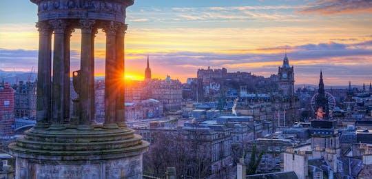 Privé begeleide wandeling door Edinburgh